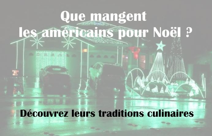 Repas traditionnel de noel usa