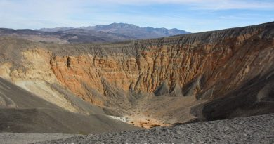 {Death Valley} Ubehebe Crater