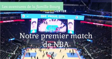 Notre premier match de NBA – Sacramento Kings vs Utah Jazz